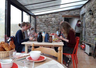 Enjoy our 20 m2 veranda